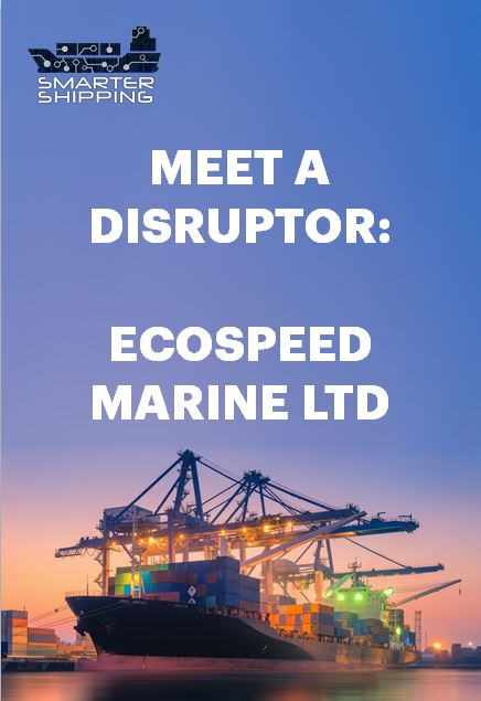 Meet a disruptor: Ecospeed Marine Ltd