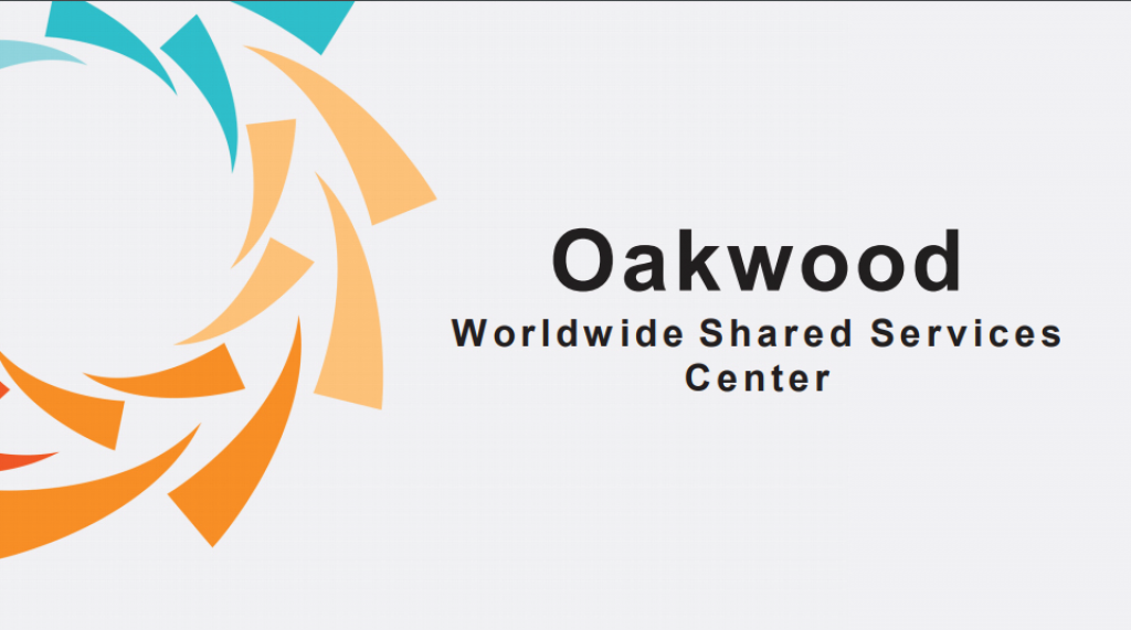 Oakwood Worldwide Shared Services Center