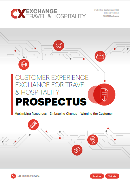 Customer Experience for Travel & Hospitality Prospectus