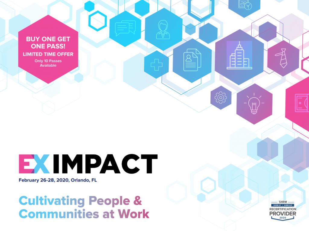 EX Impact Agenda 2020