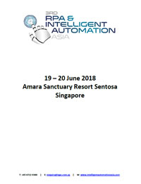 3rd RPA & Intelligent Automation Asia - Attendee List