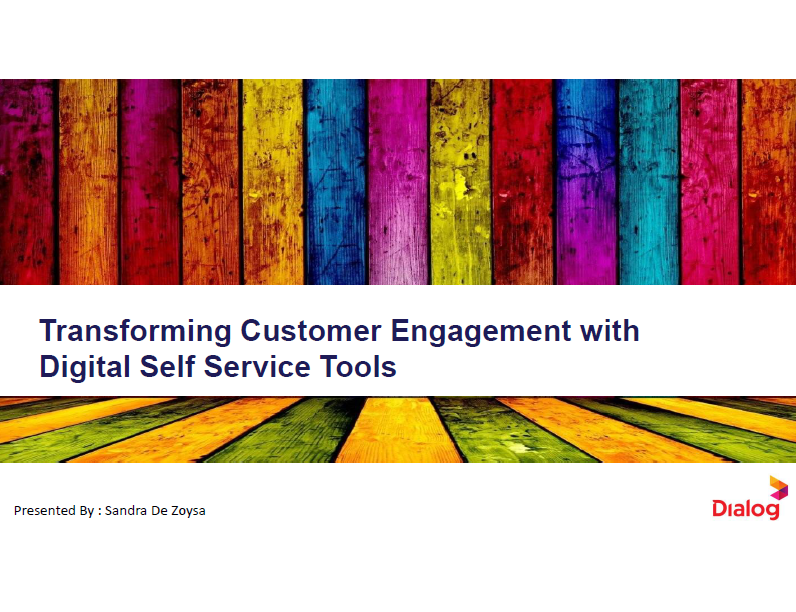 Case study: From Contact Centres to Customer Engagement Hubs: Charting a Successful Organisational and Cultural Digital Roadmap