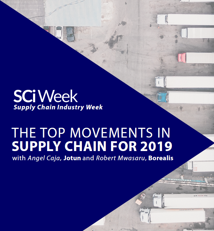 Supply Chain Industry Week - spex - top movements in SC