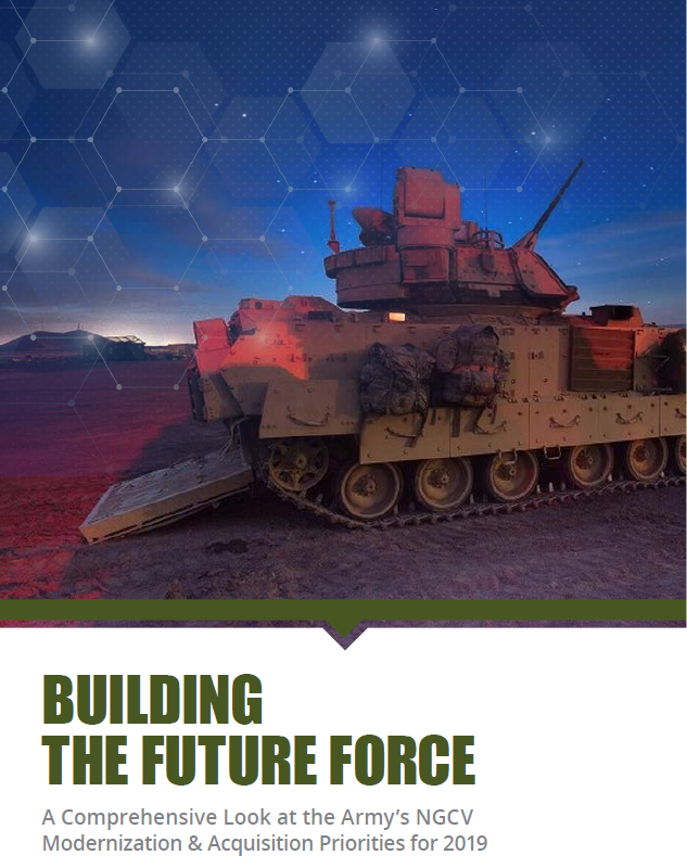 Building the Future Force- A Comprehensive Look at the Army's NGCV Modernization & Acqusition Priorities for 2019