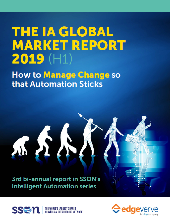 The IA Global Market Report 2019 (H1): How to Manage Change so that Automation Sticks