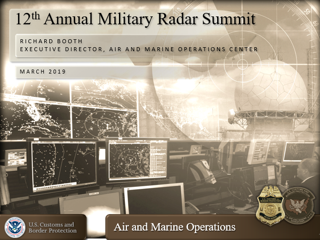Air and Marine Operations: Tethered Aerostat Radar Systems