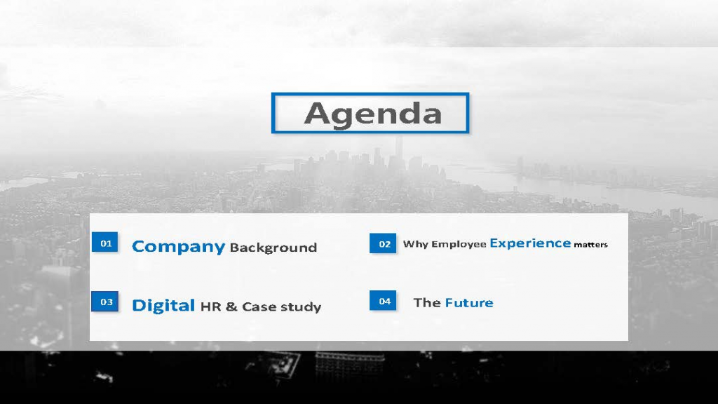 Download the Presentation - Digitizing HR for Better Employee Experiences of the Future