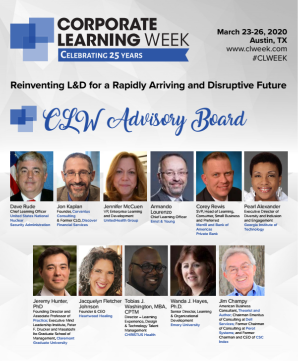 What to Expect at Corporate Learning Week 2020!