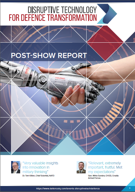 Disruptive Technologies for Defence Transformation: 2018 Post Show Report