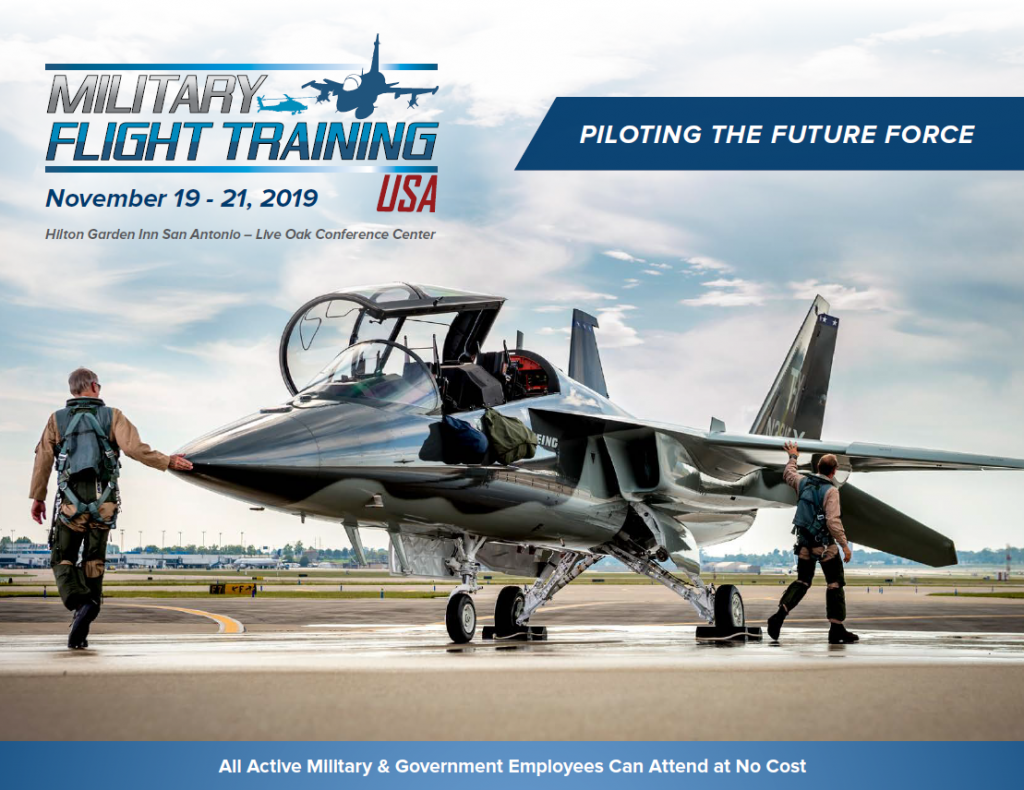 Military Flight Training Conference Agenda 2019