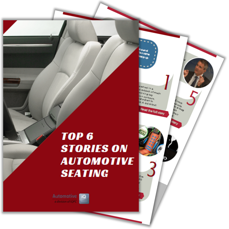 Article on 2018's TOP stories on automotive seating developments