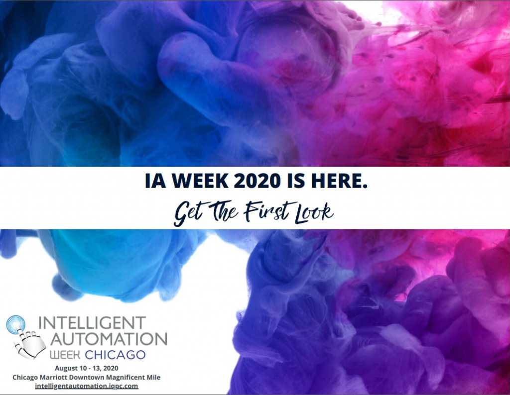 View Your Event Guide - Intelligent Automation Week Chicago