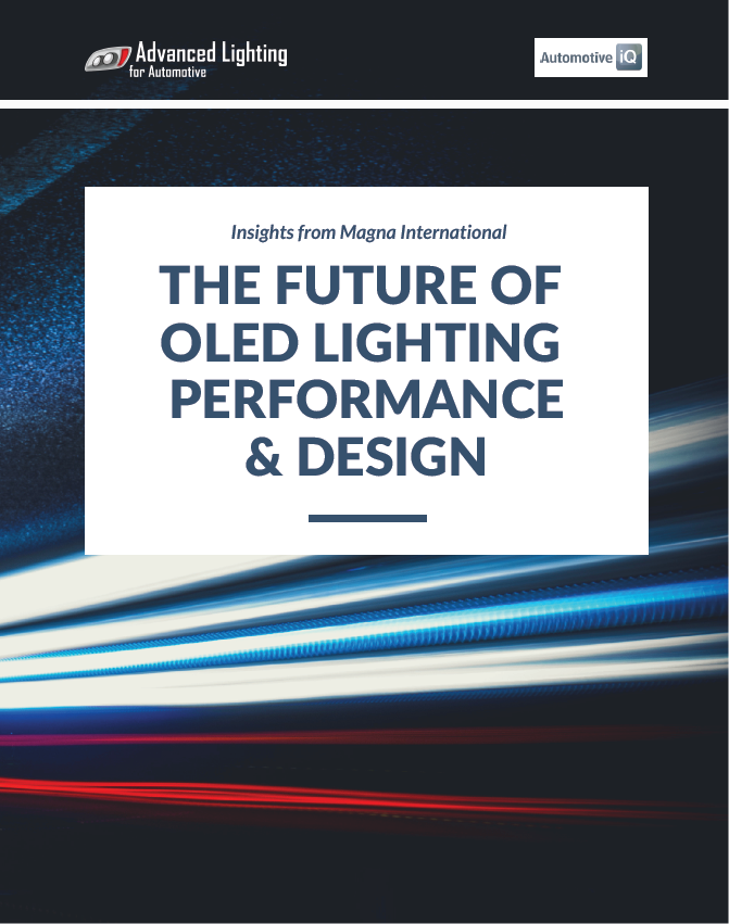 Insights from Magna International: The Future of OLED Lighting Performance & Design