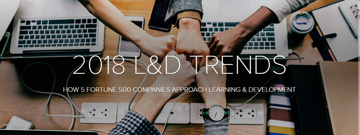 2018 L&D TRENDS: How 5 Fortune 500 Companies Approach Learning & Development