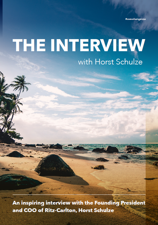 [Interview] Founding President and COO of Ritz-Carlton, Horst Schulze (SPEX)