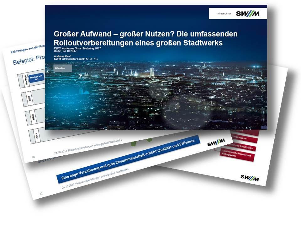 Präsentation zu den Rolloutvorbereitungen bei Stadtwerke München
