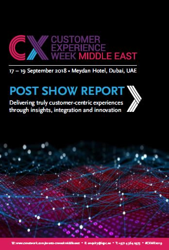2018 Post-show Report – Customer Experience Week Middle East