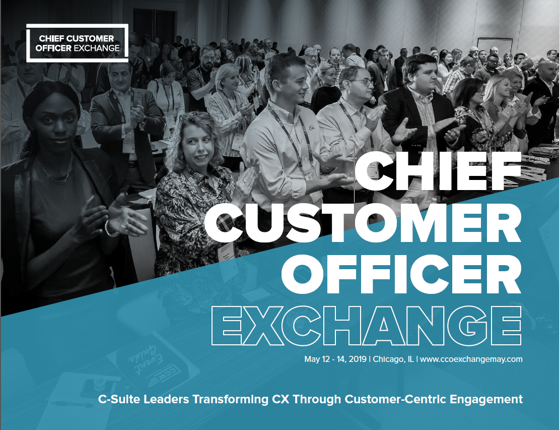 2019 Chief Customer Officer Exchange May