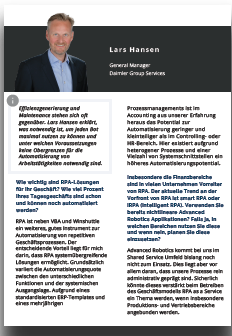Interview mit Lars Hansen von Daimler Group Services