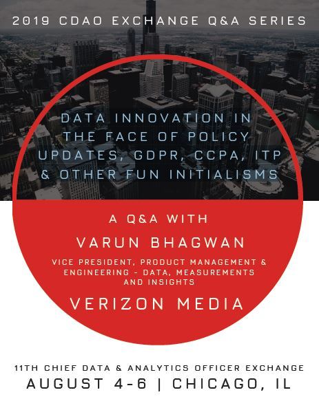 View our Exclusive New Q&A with Verizon Media's Varun Bhagwan!