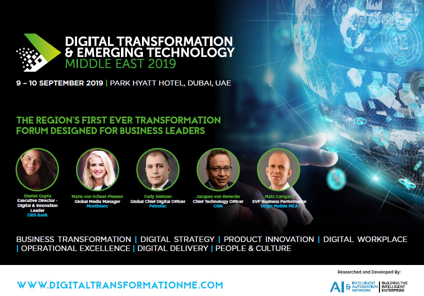 View Event Guide - Digital Transformation and Emerging Technology ME