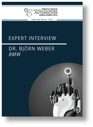 Partner Content: AI and RPA - Interview Series Part 1 - BMW