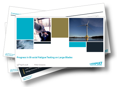 Past Presentation: Progress in Bi-axial Fatigue Testing on Larges Blades