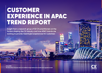 Customer Experience in APAC Trend Report 2020