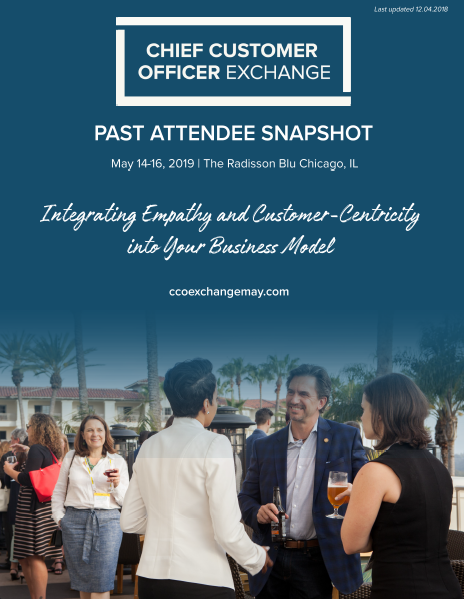 CCO Exchange Past Attendee Snapshot