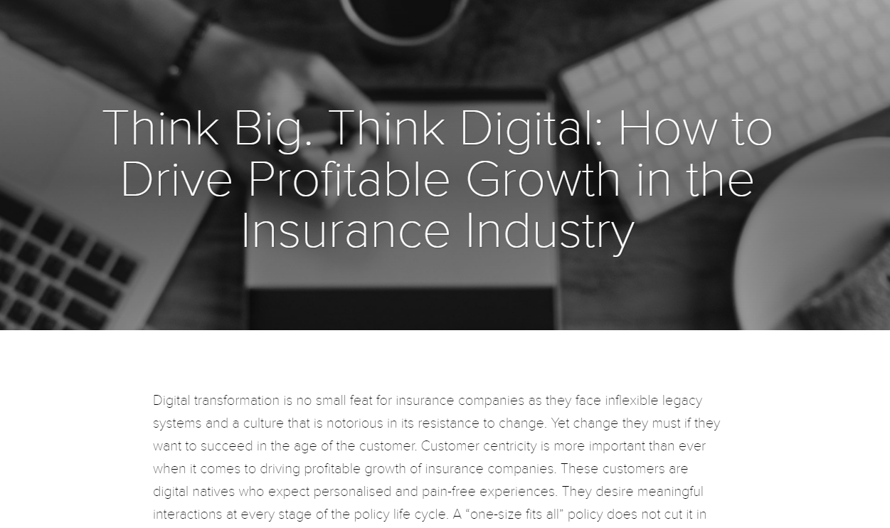 How to Drive Profitable Growth in the Insurance Industry