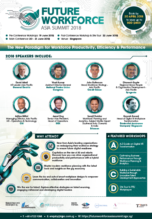 Future Workforce Asia Summit Brochure 2018