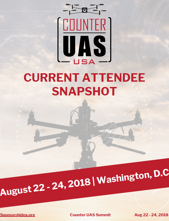 Counter UAS - Current Attendee Snapshot