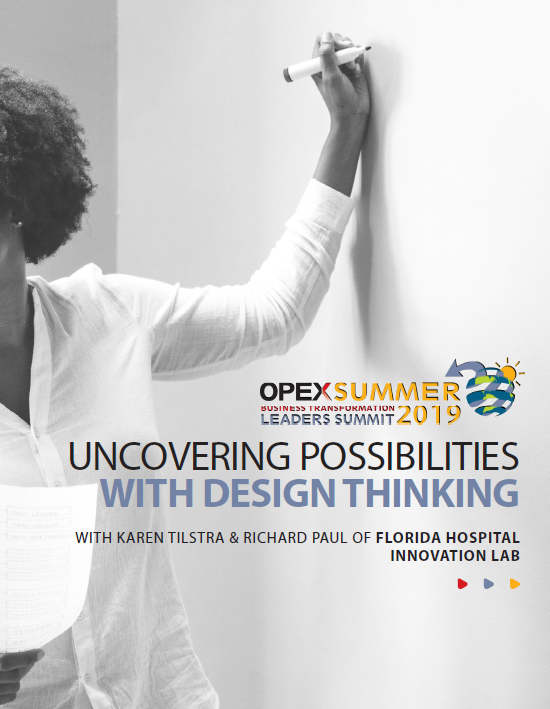 OPEX Summer | Uncovering possibilities with Design Thinking