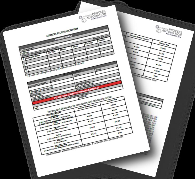 Download the Registration Form 2018