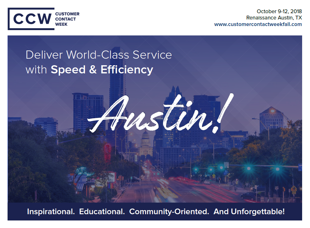CCW Austin Official Agenda