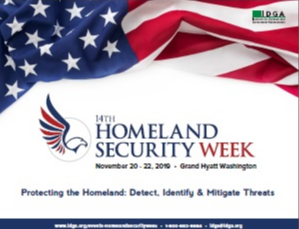 Homeland Security Week 2019 Agenda