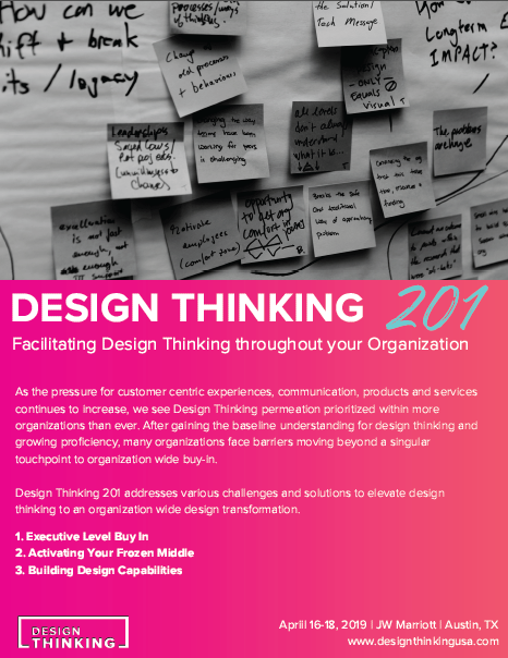 Design Thinking 201 - Learn more!
