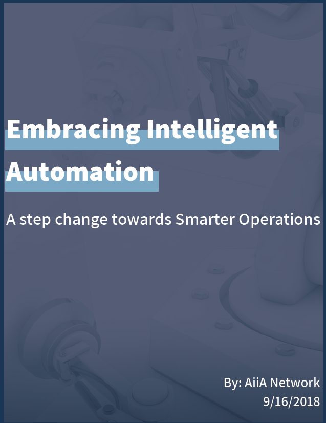 Embracing Intelligent Automation