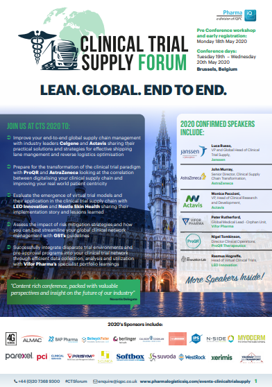 View the Event Guide | Clinical Trial Supply Forum