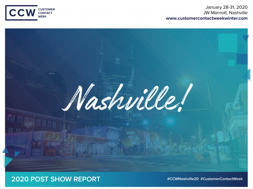 2020 CCW Nashville Post Show Report
