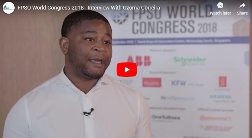 FPSO World Congress 2018 - Interview With Uzoma Correira