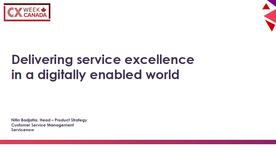 CASE STUDY: Delivering Service in a Digitally Enhanced World