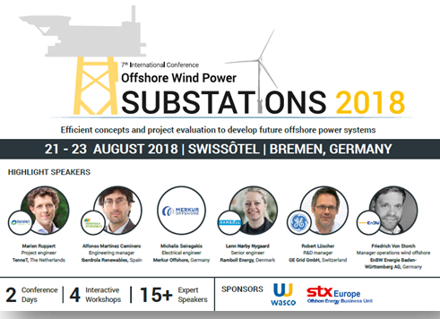 Offshore Substations 2018 Agenda