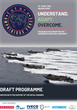 Future Amphibious Force 2021 Draft Programme