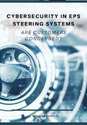 Report on developments in cybersecurity in EPS steering systems
