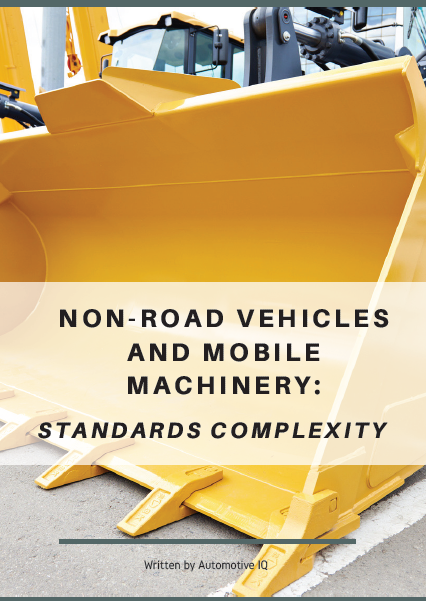 Report on the Standards Complexity of Non-Road Vehicles and Mobile Machinery