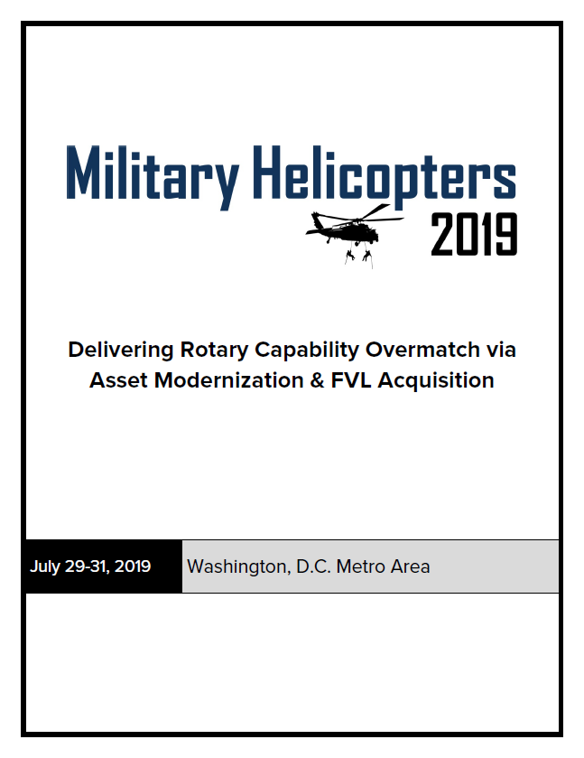 International Military Helicopters Preliminary Agenda