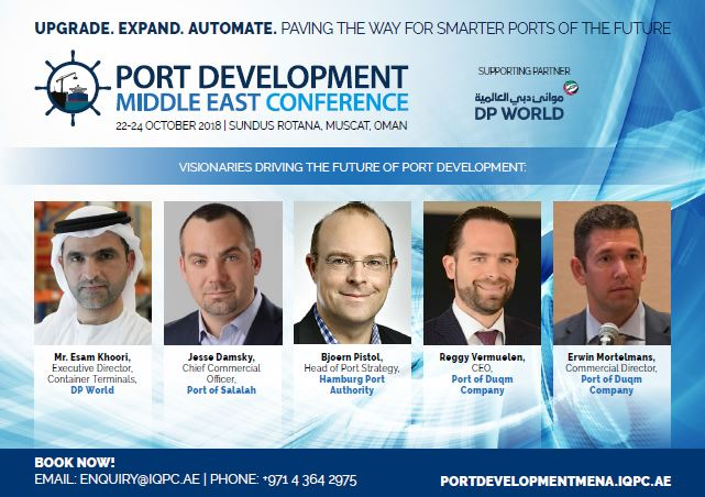 Agenda: Port Development Middle East Conference
