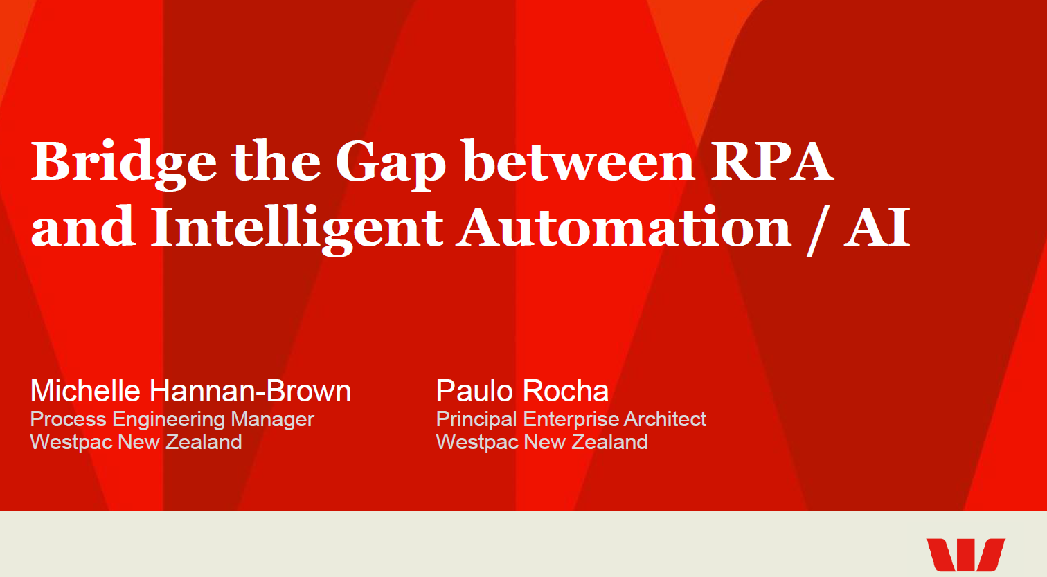 Bridge the Gap between RPA and Intelligent Automation / AI