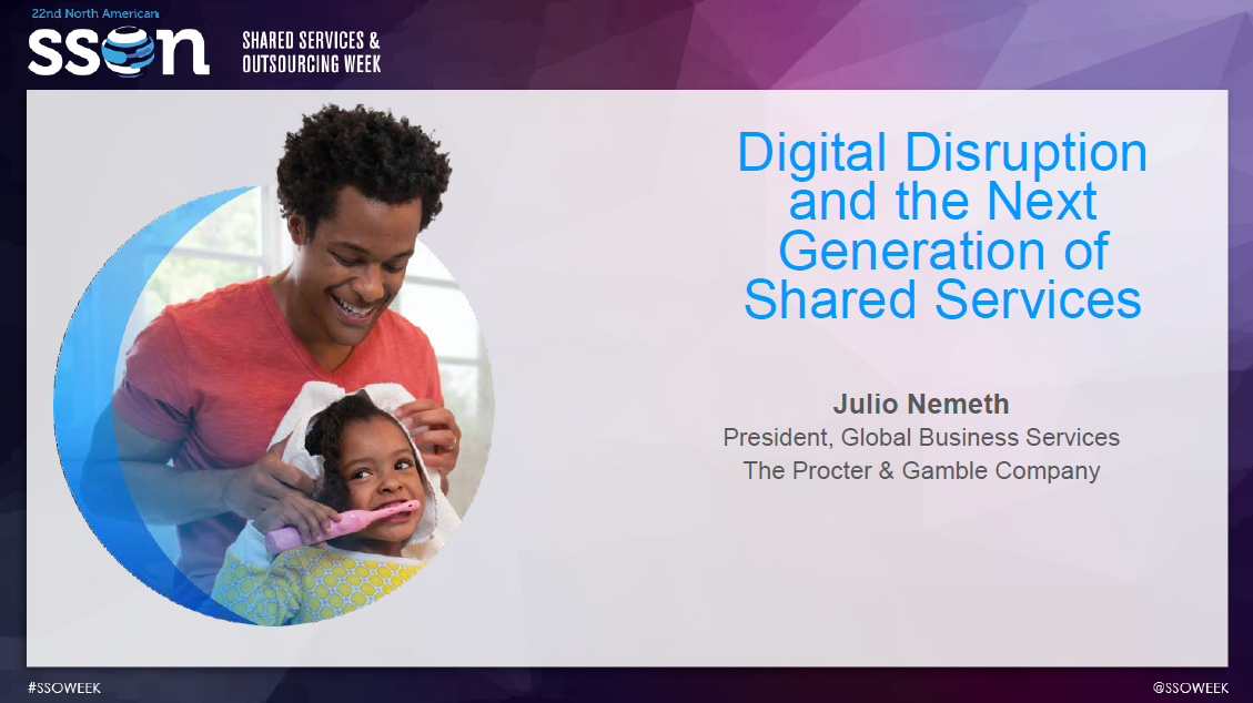 Digital Disruption and the Next Generation of Shared Services